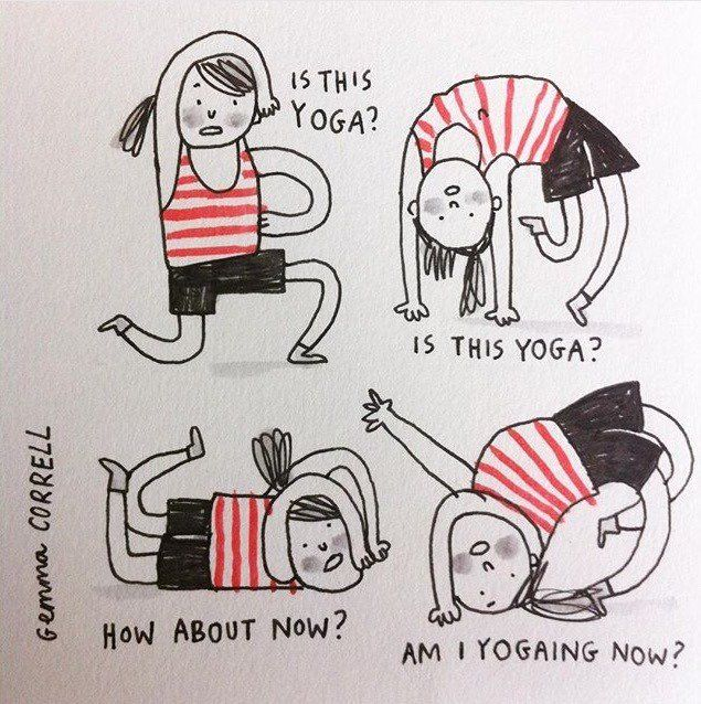 20 Funny Comics About Yoga That Are So On Point Doyou