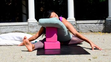 5 Restorative Yoga Poses to Balance Your Mood