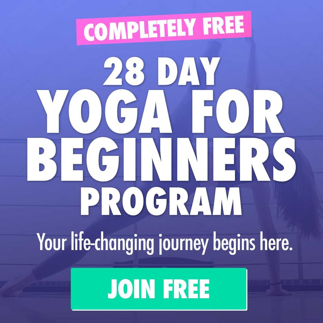 Join the free yoga for beginners program