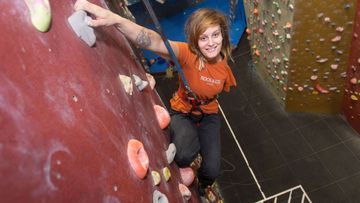 Born with One Arm, This Climber's Disability Inspired Her to Reach Even Higher #DOYOU