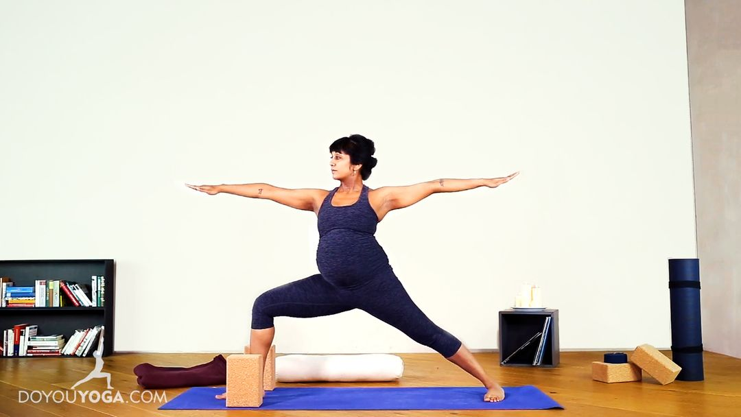 Prenatal Yoga for Lower Back & Hip Stiffness