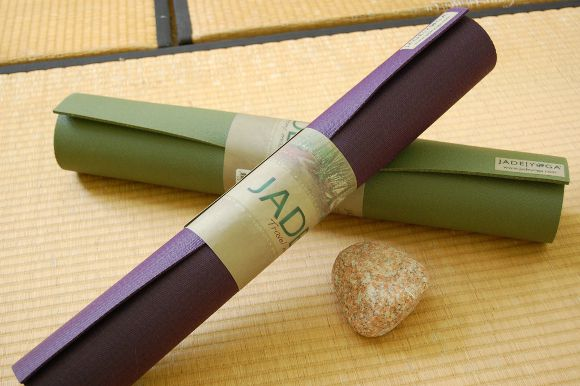 Jade Yoga Mat: Good for You, Good for the Environment
