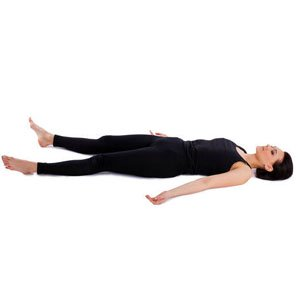 Integral Yoga Corpse Pose