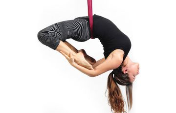 Hanging Around With Anti-Gravity Yoga
