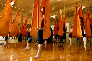 Introduction to Anti-Gravity Yoga