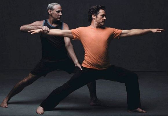 How Robert Downey Jr. Found Spiritual Balance in Yoga | DOYOU