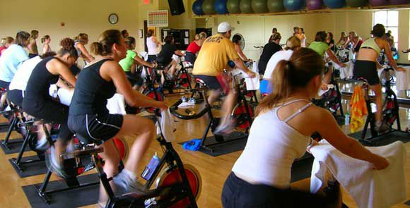 Combined Spinning and Yoga, Anyone?