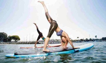 Float Your Practice: 12 Awesome Stand Up Paddle Board Yoga Poses