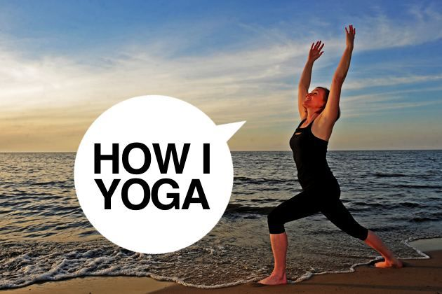 I'm Maria Santoferraro, And This Is How I Yoga