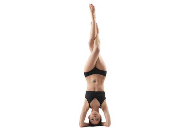 How To Find Courage Upside-Down With Tripod Balance and Headstand