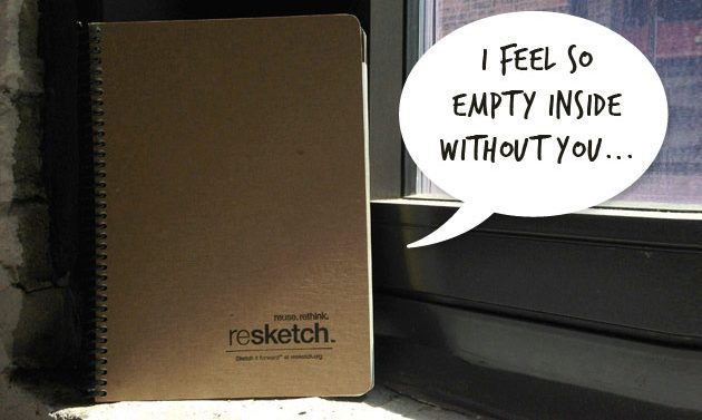 Resketch – A New Kind Of Sketchbook