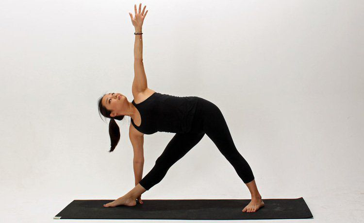 How To Do Extended Triangle Pose