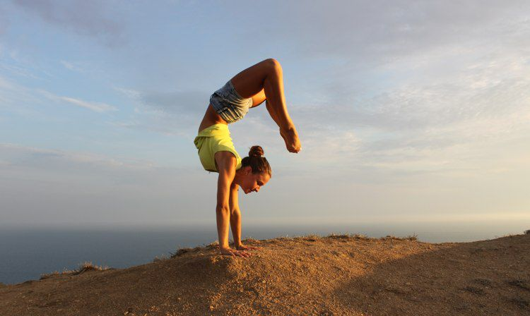 4 Steps To Finally Doing The Yoga Pose You've Been Avoiding