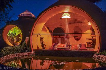 This Guy Built His Own Namaste Bubble House And It Looks AMAZING