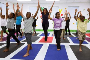 Michelle Obama Shifts To Yoga As She Turns 50