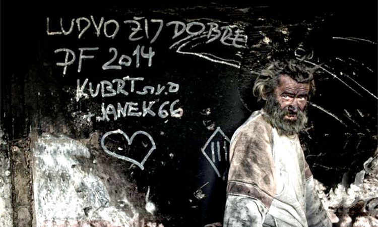 Meet Ludvik, Europe's Dirtiest Man