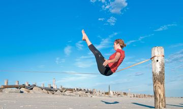 Slackasana: The Balancing Act Of Yoga And Slacklining