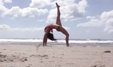 Watch This Beautiful Beach Yoga Sequence (VIDEO)