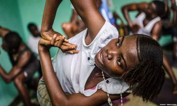 Yoga Strength Spreads Hope and Healing in Sierra Leone
