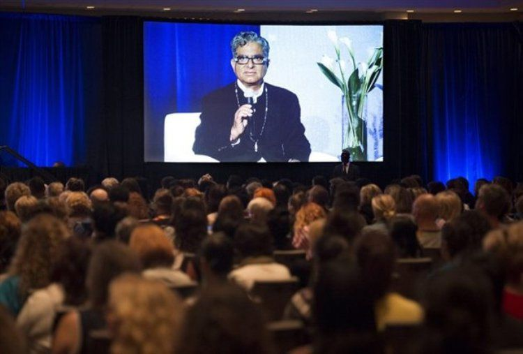 Deepak Chopra Leads World Record Meditation Attempt