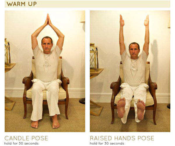 Chair yoga 1