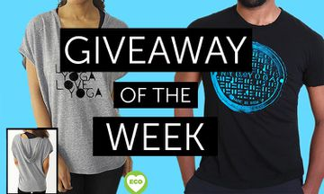 Giveaway - 3 x Yoga-Themed Shirts From YogaTees-NYC (Worth $48)