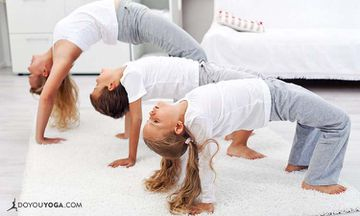 5 Fun Ways To Engage Your Kids In Yoga Practice