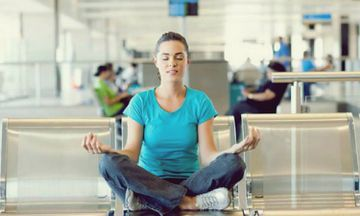 5 Yoga Poses For Long Layovers