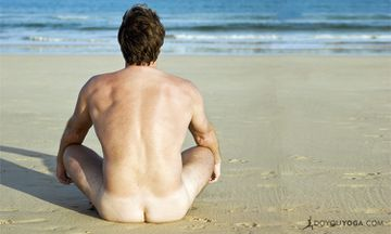 Nude Yoga For Men On the Rise