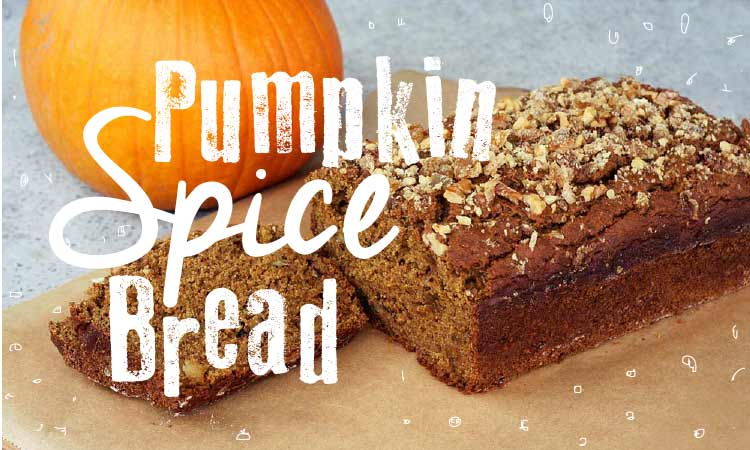 Recipe Yummy Fall-Time Pumpkin Spice Bread
