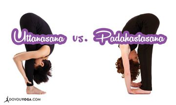 The Difference Between Standing Forward Bend And Gorilla Pose