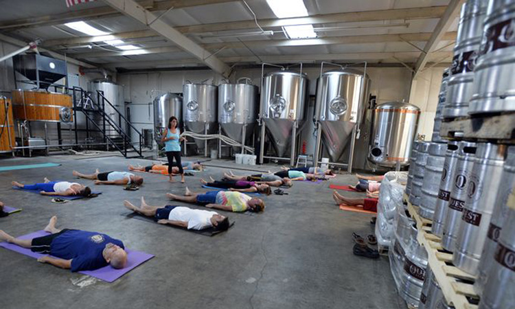 Beer and Yoga When Foodies and Yogis Collide