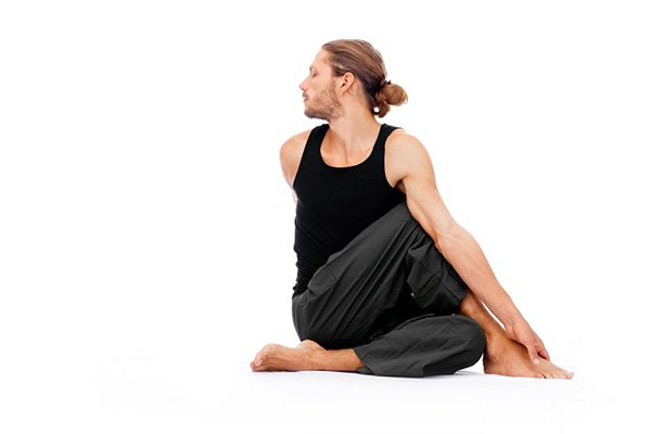Half Lord of the Fishes Pose Ardha Matsyendrasana