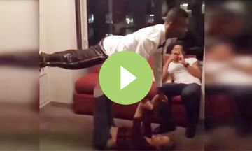 Soccer Player Salomon Kalou Shows Off His Yoga Moves (VIDEO)