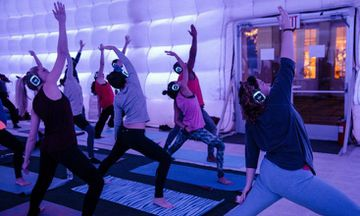 'Sound Off' Yoga Lets You Do Yoga in Silence…With Music