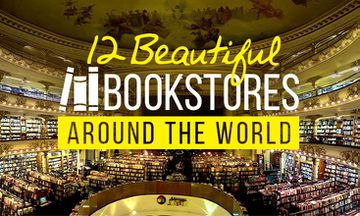 12 Beautiful Bookstores From Around the World