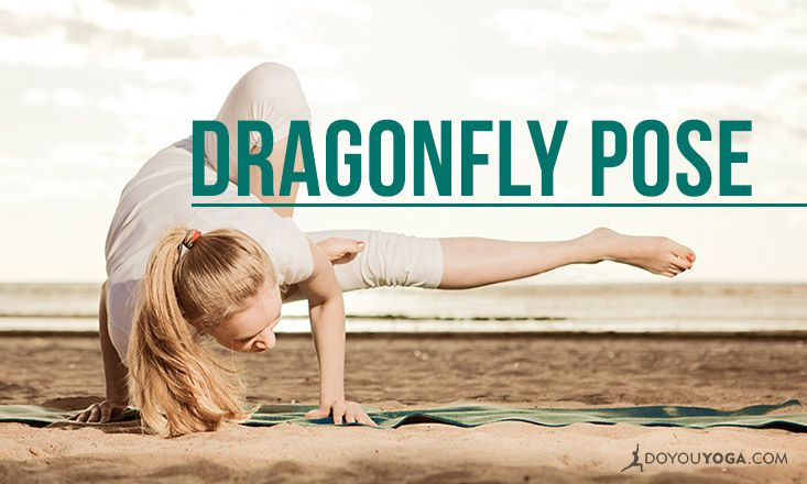How to Do Maksikanagasana: Dragonfly Pose