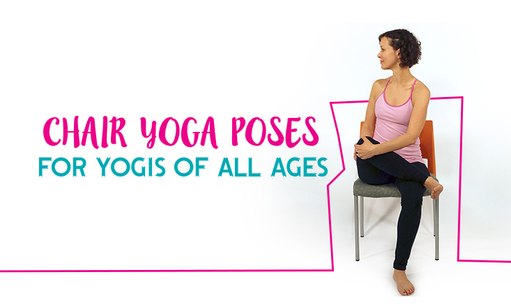 5 Chair Yoga Poses