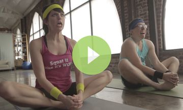 Funny: This is What Happens When CrossFitters Do Yoga (VIDEO)