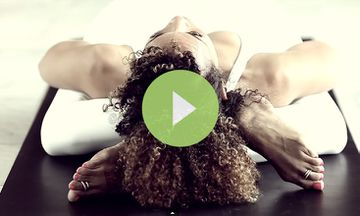 Geometries: An Ashtanga Yoga Demo By Laruga Glaser (VIDEO)