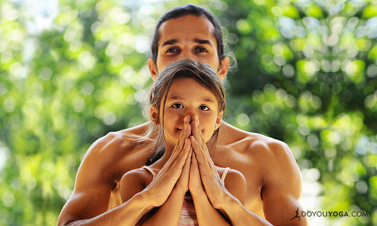 7 Yoga Photos that Celebrate Fathers, Spouses, Uncles, and All Men