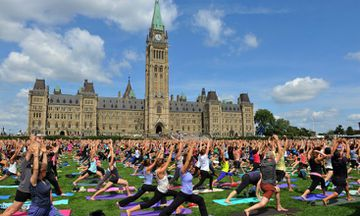 How Yogis Around the World Are Celebrating International Yoga Day on June 21