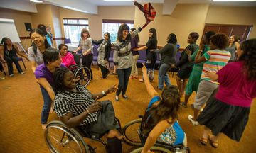 Initiative Incorporates Yoga To Empower Disabled Women Activists