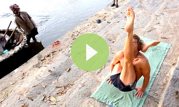 "Yoga Demo - ""Monday Morning Practice"" (VIDEO)"