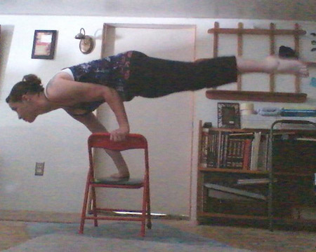 Balance on a Chair