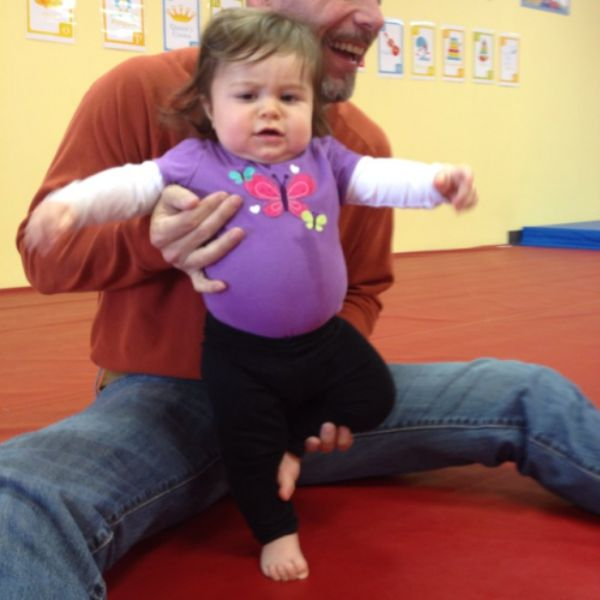12 Adorable Babies Doing Yoga -- tree pose