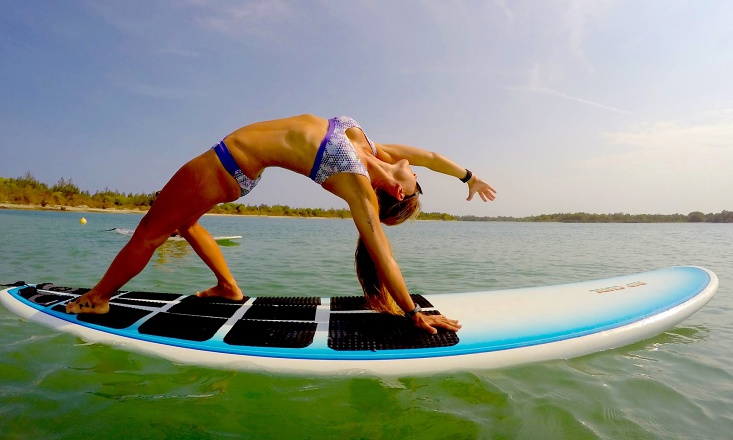 Get Your Float On - Busting the 3 Most Common Myths of SUP Yoga