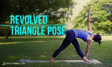 How to Do Revolved Triangle Pose