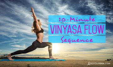 10-Minute Vinyasa Flow Yoga Sequence