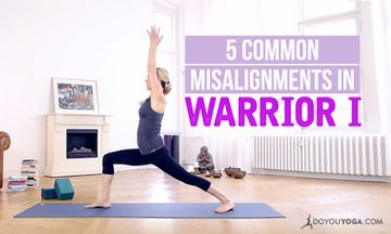 5 Common Misalignments in Warrior I (And How to Fix Them)
